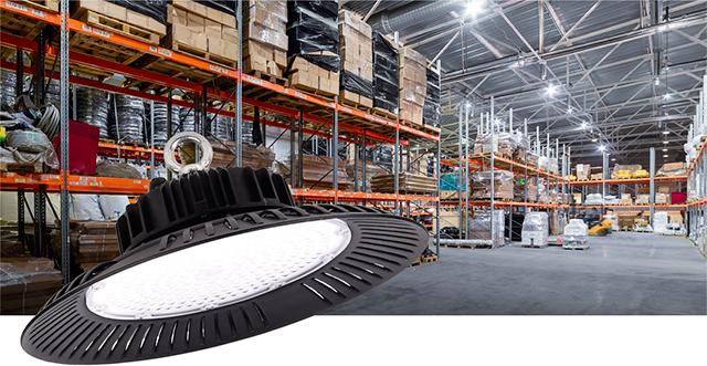 Профессиональные светильники для высоких пролетов ДСП 5001-5004 IEK® – равномерная засветка и экономия электроэнергии