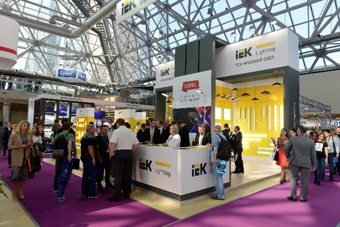 IEK Lighting и LEDEL на выставке Interlight Russia – двойной успех!